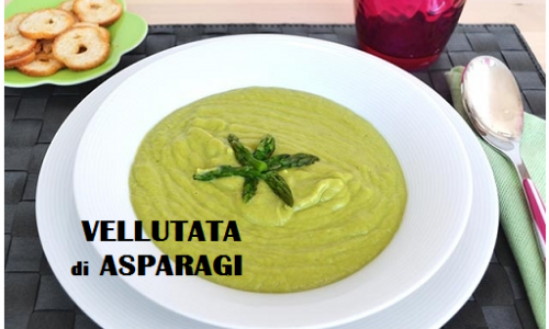 Vellutata di asparagi, deliziosa minestra ricca di proprietà salutari