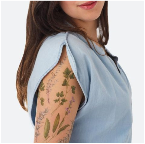Estate 2017: i tatuaggi rimovibili e profumati