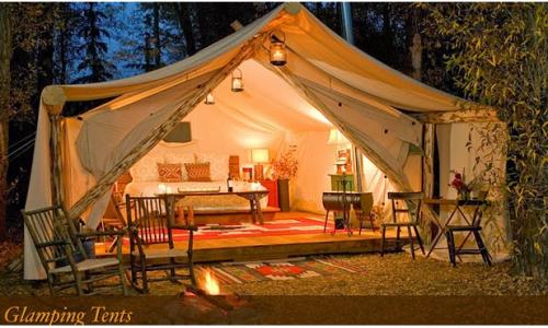 Glamping, la nuova frontiera del campeggio glamour