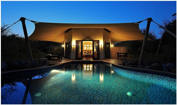 Glamping - Al Maha Desert Resort & Spa di Dubai