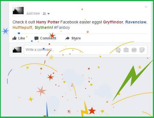 Easter Egg di Harry Potter: così Facebook festeggia il ventesimo anniversario