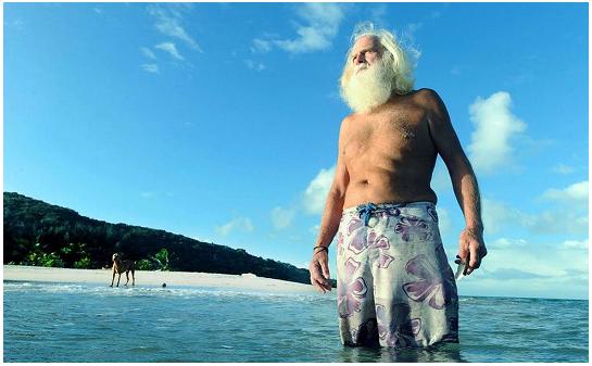 Da oltre 20 anni vive su un'isola semi deserta: è l'ex multimilionario David Glasheen