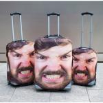 Cover con foto gigante per valigia: impossibile perderla o scambiarla!