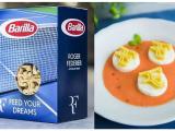 Pasta personalizzata Barilla per il campione di tennis Roger Federer