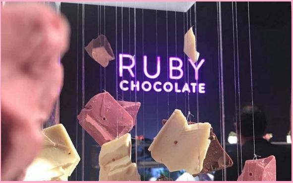 Ruby Chocolate: la cioccolata rosa che arriva dalla Svizzera