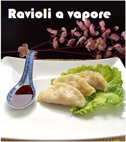 Ravioli a vapore - Cucina Vegan