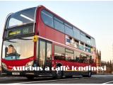 Autobus a caffè: viene da Londra un'idea a dir poco rivoluzionaria