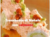Tronchetto di Natale con salmone