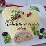 Tronchetto natalizio salato, l'originale antipasto delle festività