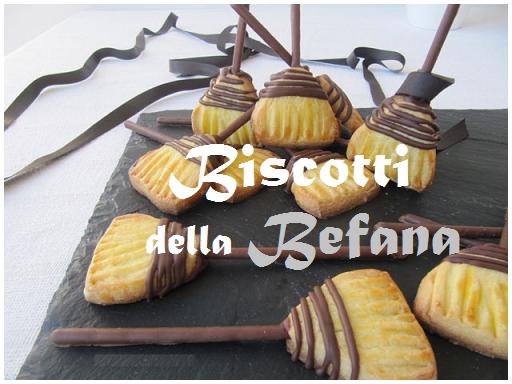 Biscotti della Befana, deliziosi dolcetti a forma di scopa