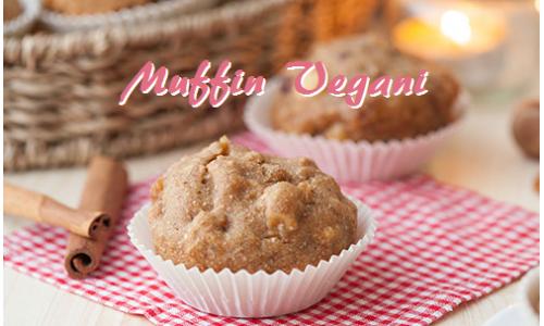 Muffin senza uova con nocciole e mele, ricetta di piccole golosità vegan