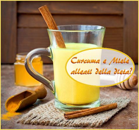 curcuma e miele alleati della dieta, sì o no?