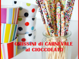 Grissini al cioccolato: golosissimi dolcetti per Carnevale