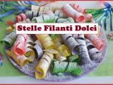 Stelle filanti dolci, allegri e coloratissimi per un pazzo Carnevale
