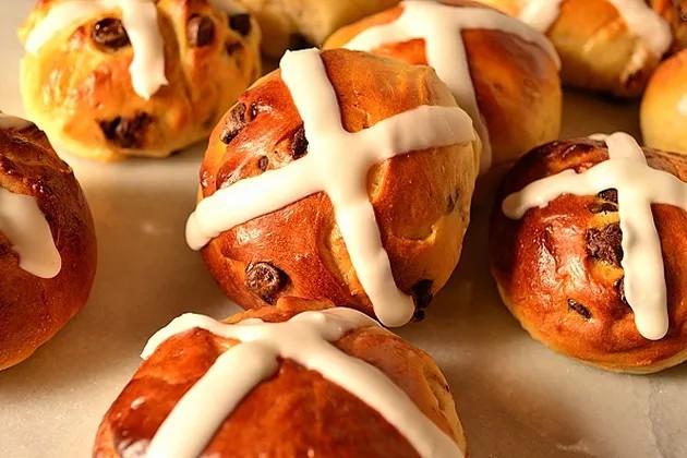 Pasqua nel mondo: Hot Cross Buns