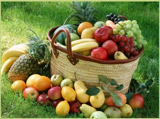 Frutta per una alimentazione sana e corretta