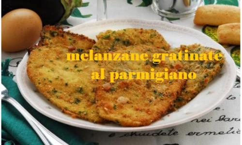 Melanzana gratinata al parmigiano: saporito e croccante contorno
