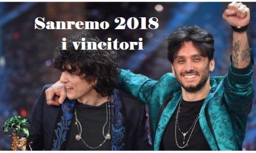 Sanremo 2018 polemiche sulla vittoria di Ermal Meta e Fabrizio Moro, sospettati di plagio