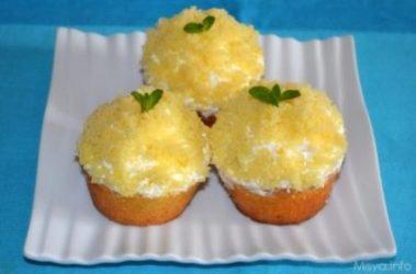 Cupcakes mimosa, finissimi dolcetti per la Festa della donna