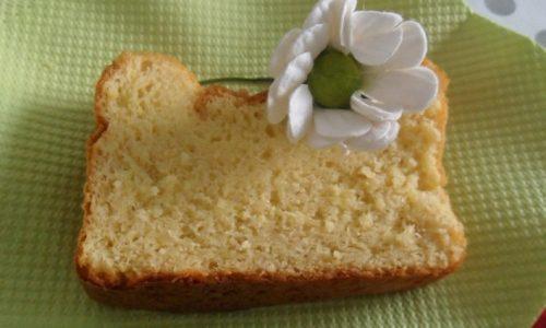 Plumcake light alla vaniglia, delizia del palato e della linea