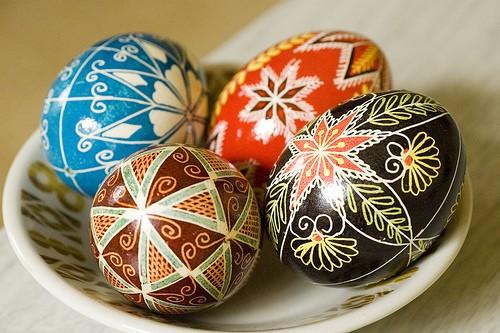 Pasqua nel mondo: uova Pysanka