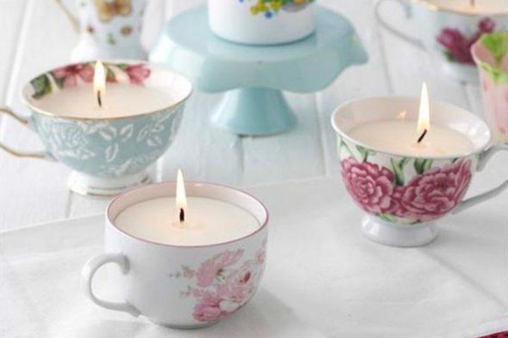 Decorare Candele Fai Da Te : Candela in tazza fai da te per decorare e profumare la tua casa
