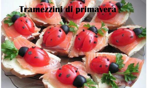 Tramezzini di primavera, gustoso antipasto per feste e buffet