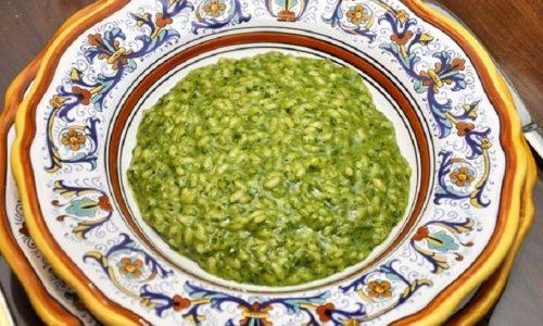 Risotto al thè verde, raffinato primo piatto dal gusto insolito