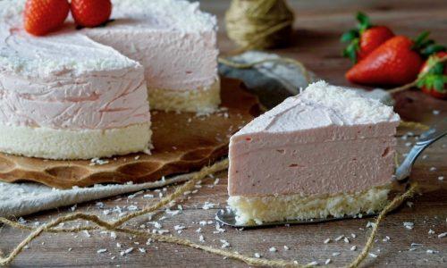Torta fredda allo yogurt, fresca delizia estiva