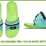 Ciabatte con marsupio Nike: il must have dell'estate 2018