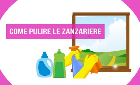 Come pulire le zanzariere per eliminare lo sporco in modo naturale