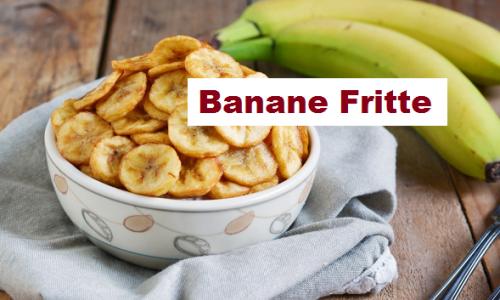 Banane fritte, ottimo snack da gustare in mille versioni