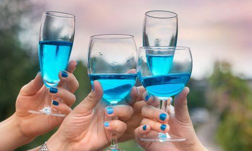 Arriva dalla Spagna il vino blu. Si chiama Gik Blue ed è un successo