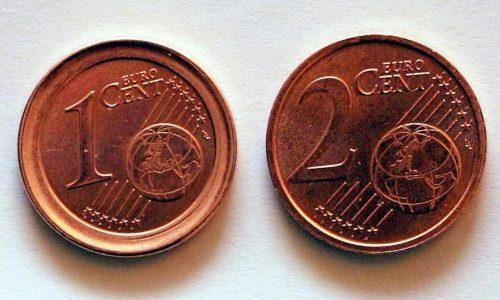 Monete da 1 e 2 centesimi: addio da gennaio 2019