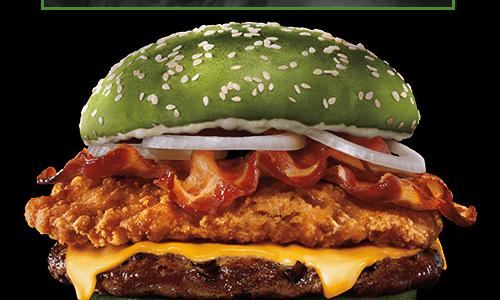 Nightmare King, il panino di Halloween che fa venire gli incubi