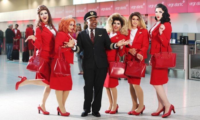 Lesbiche, gay, bisessuali e trans alla Virgin Atlantic