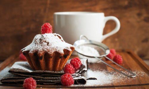 Muffin ai frutti rossi disidratati per una colazione speciale