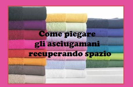 Tecniche per piegare gli asciugamani in modo pratico e intelligente