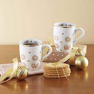 Tazza colazione con decorazioni natalizie Thun