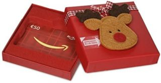 Buono regalo Amazon cofanetto Natale