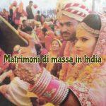 Matrimoni di massa a Bhopal, India