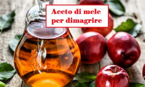 Aceto di mele per tornare in forma