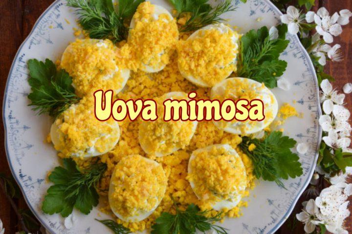 Uova mimosa per la Festa della donna