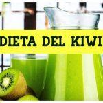 Dieta del kiwi per perdere peso e depurare l'organismo