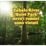 Zabalo River, il Quiet Park dove i rumori sono vietati