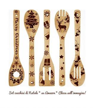 Set cucchiai di Natale