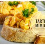Tartine mimosa, antipasto per la Festa della Donna