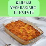 Gateau vegetariano di patate e peperoni