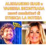 """Alessandro Siani e Vanessa Incontrada presentano """"Striscia la notizia"""""""